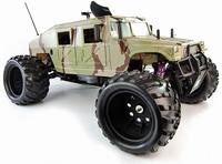 ShengQi 1/5 schaal Benzine RC  Hummer NIEUW met 30.5cc motor
